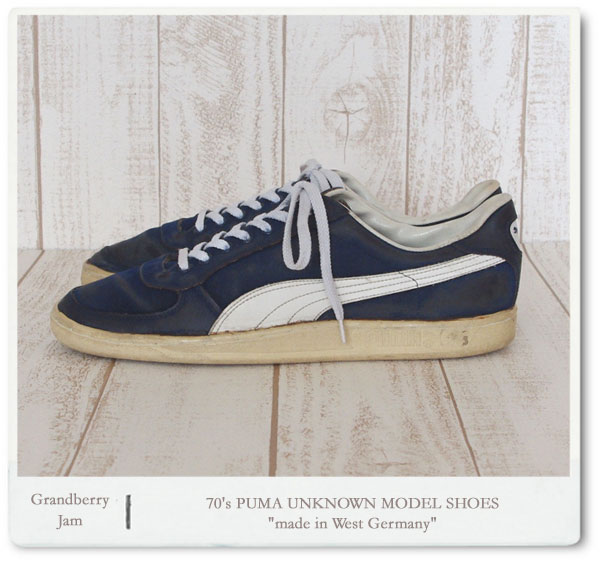 70 39 s puma unknown model shoes made in west germany garitto. Black Bedroom Furniture Sets. Home Design Ideas