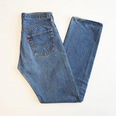 "画像1: LEVI'S 501 DENIM PANTS ""made in USA"" ""INSEAM SINGLE STITCH"" 【W29 程度】 (1)"