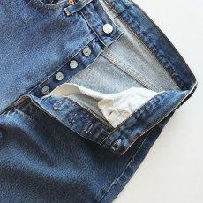 "画像4: LEVI'S 501 DENIM PANTS ""made in USA"" ""INSEAM SINGLE STITCH"" 【W29 程度】 (4)"