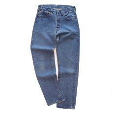 "画像2: LEVI'S 501 DENIM PANTS ""made in USA"" ""INSEAM SINGLE STITCH"" 【W29 程度】 (2)"