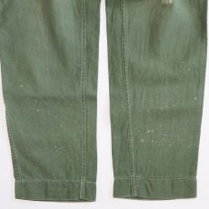 画像9: 50's-60's US MARINE CORPS P-58 COTTON SATEEN UTILITY PANTS (9)