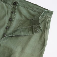 画像7: 50's-60's US MARINE CORPS P-58 COTTON SATEEN UTILITY PANTS (7)