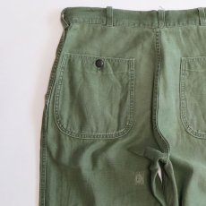 画像10: 50's-60's US MARINE CORPS P-58 COTTON SATEEN UTILITY PANTS (10)