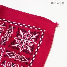 画像7: VINTAGE ELEPHANT BRAND COTTON BANDANA (7)