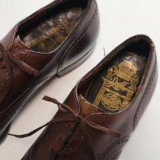 """画像4: OLD JOHNSTON & MURPHY """"ARISTOCRAFT"""" LEATHER WING TIP DRESS SHOES【size : 8 1/2 〜 9 程度】 (4)"""