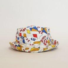 画像4: OLD YA ALL OVER PATTERN EASY-TO-ROLL BUCKET HAT (4)