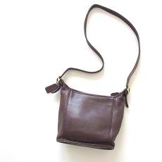 画像1: OLD COACH LEATHER SHOULDER BAG (1)