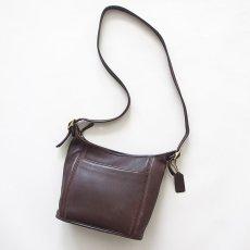 画像2: OLD COACH LEATHER SHOULDER BAG (2)