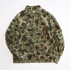 画像1: 60's WESTERN FIELD COTTON DUCK HUNTER CAMOUFLAGE HUNTING JACKET (1)