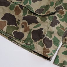画像9: 60's WESTERN FIELD COTTON DUCK HUNTER CAMOUFLAGE HUNTING JACKET (9)