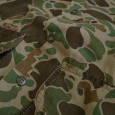 画像6: 60's WESTERN FIELD COTTON DUCK HUNTER CAMOUFLAGE HUNTING JACKET (6)