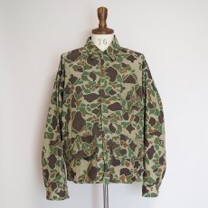 画像12: 60's WESTERN FIELD COTTON DUCK HUNTER CAMOUFLAGE HUNTING JACKET (12)