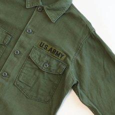 画像3: 60's US ARMY COTTON SATEEN UTILITY SHIRT JACKET (3)