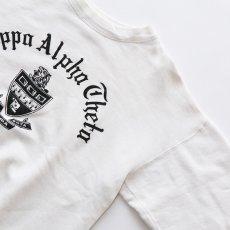 """画像3: 50's Champion COTTON PRINT CREW NECK SWEAT """"Kappa Alpha Theta"""" (3)"""