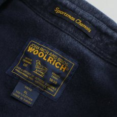 画像6: WOOLRICH COTTON CHAMOIS CLOTH B/D SHIRT (6)