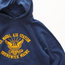 """画像3: 80's ARTEX PRINT SWEAT PULLOVER PARKA """"US NAVAL AIR STATION"""" (3)"""
