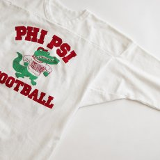 "画像3: 80's RUSSELL W-PRINT CROPPED SLEEVE FOOTBALL TEE ""PHI PSI FOOTBALL"" (3)"