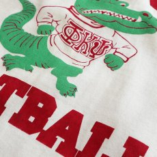 "画像4: 80's RUSSELL W-PRINT CROPPED SLEEVE FOOTBALL TEE ""PHI PSI FOOTBALL"" (4)"