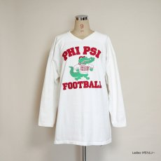 "画像10: 80's RUSSELL W-PRINT CROPPED SLEEVE FOOTBALL TEE ""PHI PSI FOOTBALL"" (10)"