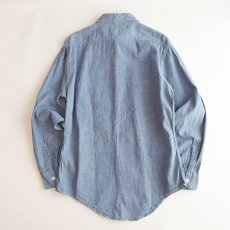 画像3: 〜70's KiFFE COTTON CHAMBRAY WORK SHIRT (3)