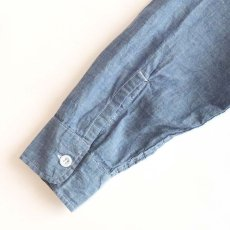 画像7: 〜70's KiFFE COTTON CHAMBRAY WORK SHIRT (7)