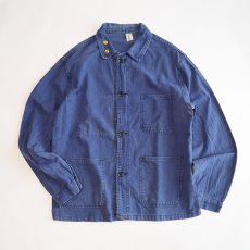 画像1: OLD LE MONT CARMEL COTTON TWILL FRENCH WORK JACKET (1)