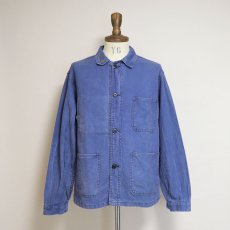 画像9: OLD LE MONT CARMEL COTTON TWILL FRENCH WORK JACKET (9)