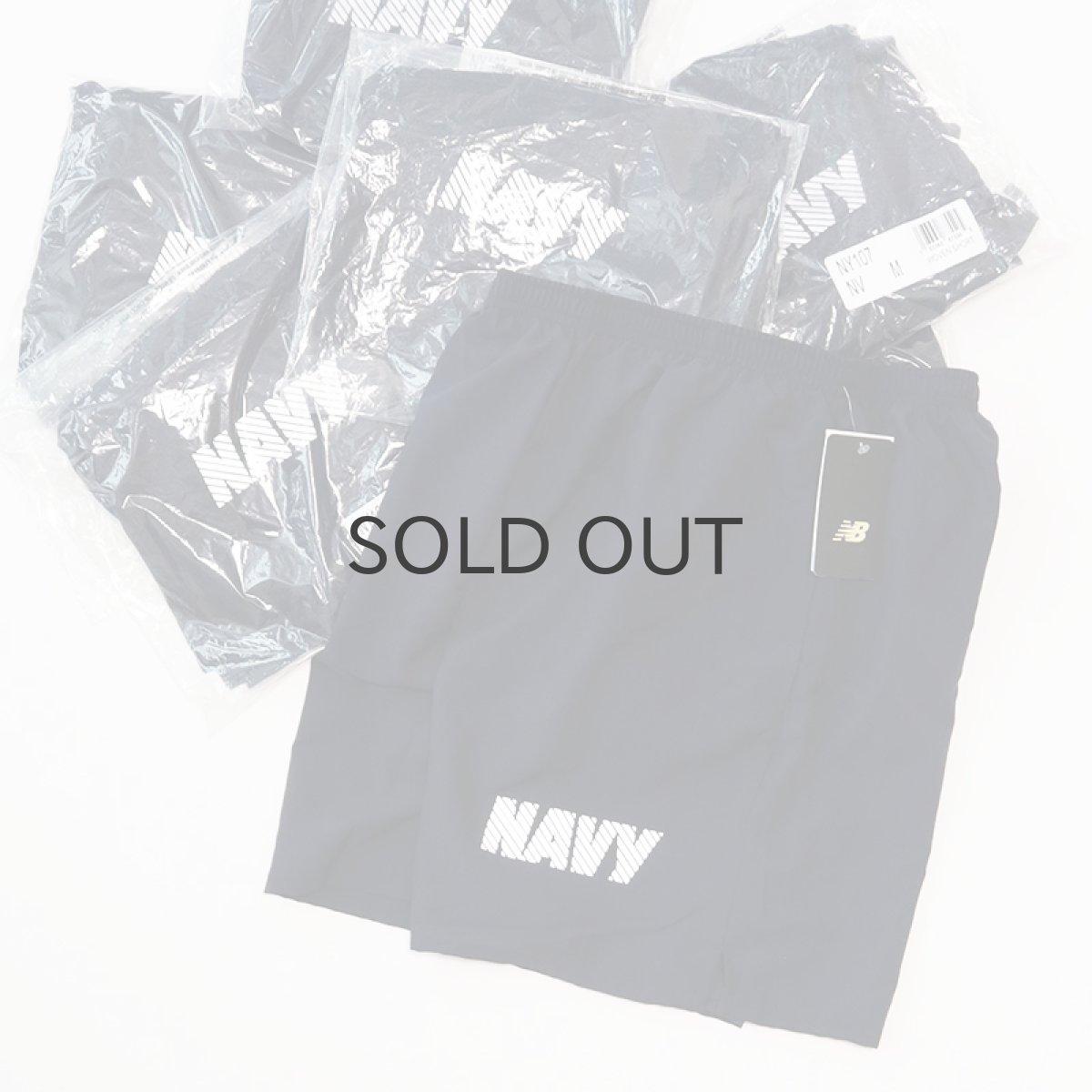 """画像1: US NAVY by New Balance POLYESTER GYM SHORTS """"DEADSTOCK""""【Size : M】 (1)"""