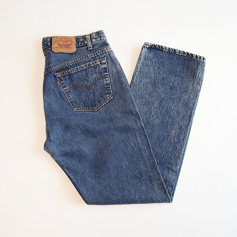 "画像1: LEVI'S 501 DENIM PANTS ""made in USA"" 【W35 程度】 (1)"