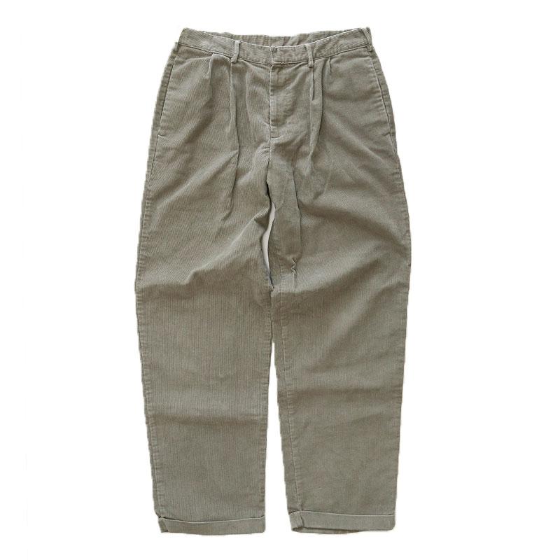 画像1: DOCKERS CORDUROY TUCK PANTS (1)