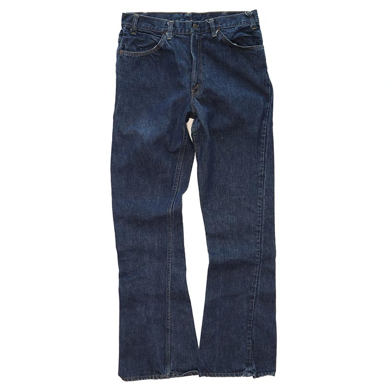 画像1: 70's LEVI'S 646 DENIM FLARE PANTS (1)