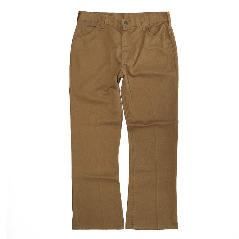 画像1: 〜80's Lee TWILL BOOTS CUT PANTS (1)