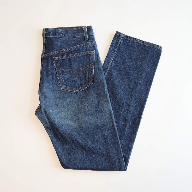 """画像1: LEVI'S 501 DENIM PANTS """"made in USA"""" 【W34 程度】 (1)"""