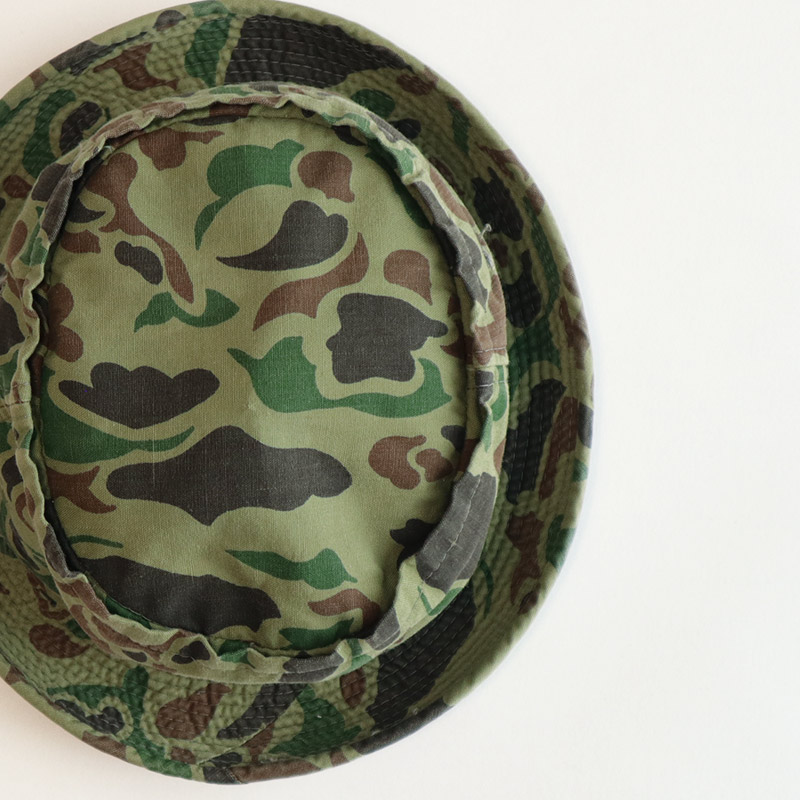 画像1: OLD YA DUCK HUNTER CAMOUFLAGE ROLL-UP BUCKET HAT (1)