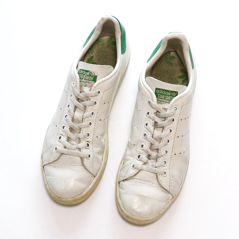 """画像1: 〜80's adidas """"STAN SMITH"""" LEATHER SHOES """"MADE IN USA"""" (1)"""