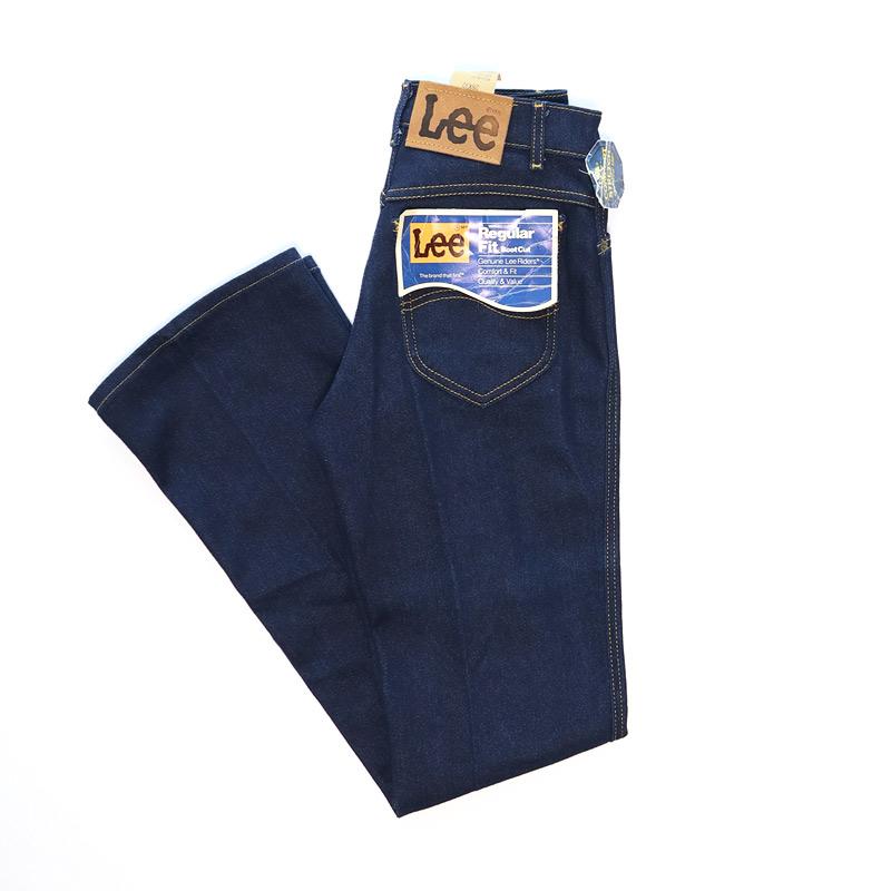 """画像1: 〜80's Lee 202 DENIM BOOTS CUT PANTS """"DEADSTOCK"""" (1)"""
