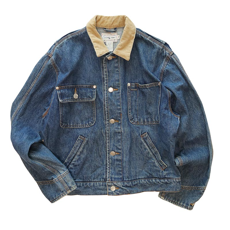 画像1: 〜90's Ralph Lauren COTTON DENIM 4 POCKET JACKET (1)