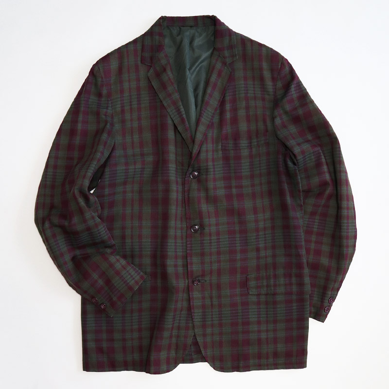 画像1: 60's Sears CHECK 3B TAILORED JACKET (1)