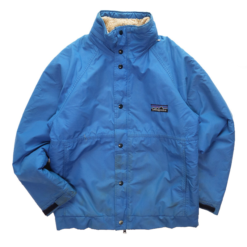 画像1: 80's Patagonia UNKNOWN MODEL NYLON SHELL PILE FLEECE LINING ZIP OUTDOOR JACKET (1)