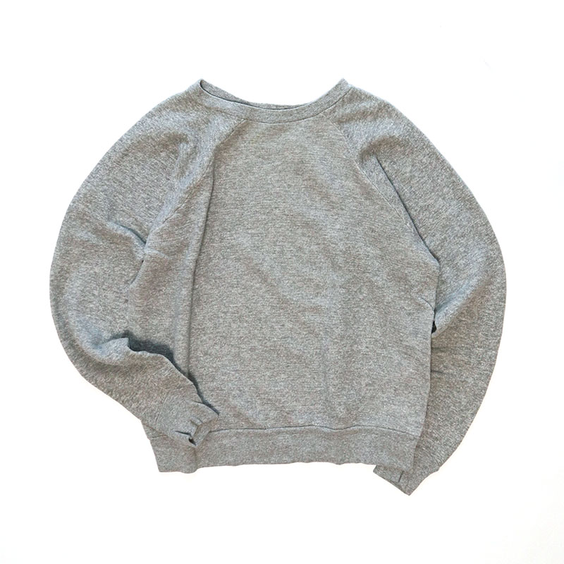 画像1: 60's SEARS COTTON CREW NECK SWEAT (1)