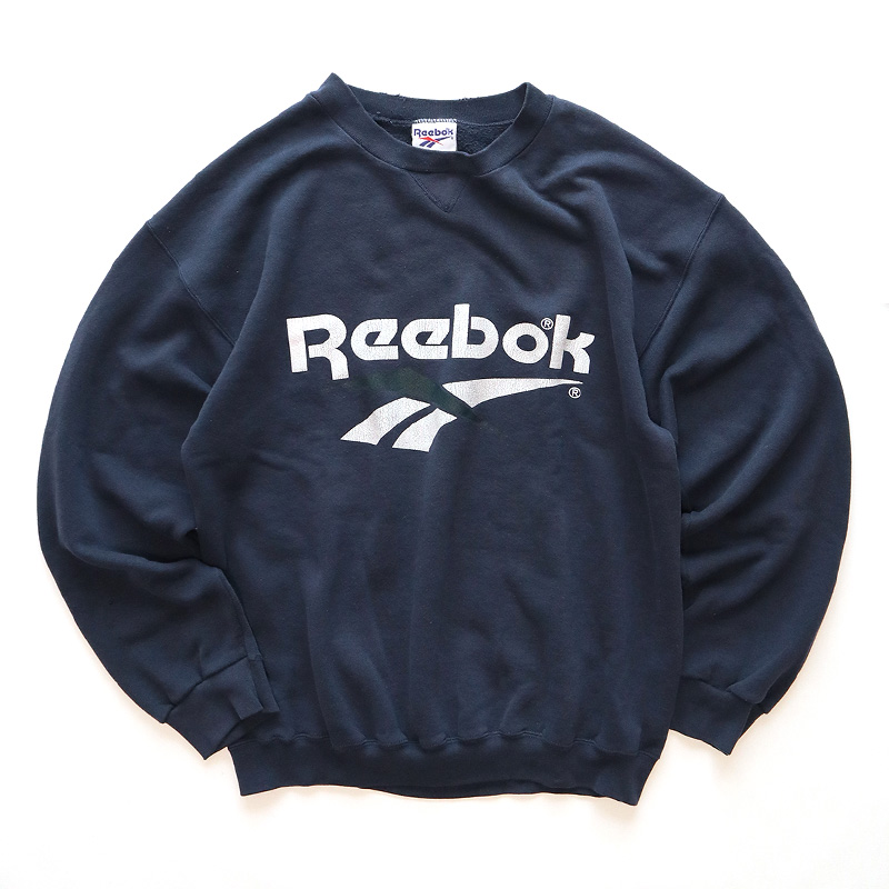 画像1: 〜90's Reebok LOGO PRINT CREW NECK SWEAT (1)