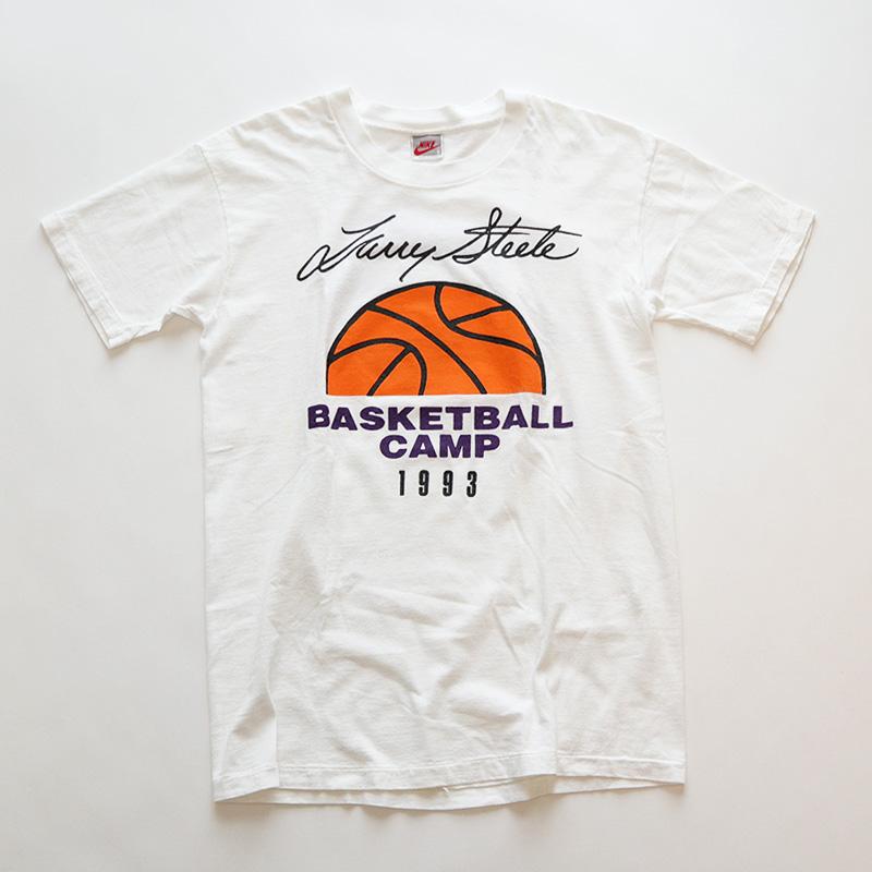 """画像1: 90's NIKE COTTON W-PRINT S/S TEE """"BASKETBALL CAMP 1993"""" (1)"""