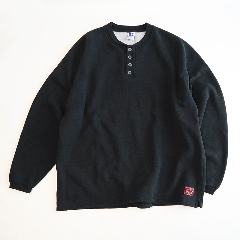 "画像1: RUSSELL HENLEY NECK BIG SIZE SWEAT ""MADE IN USA"" (1)"